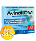 Avinol PM Herbal Sleep Aid Extra Strength